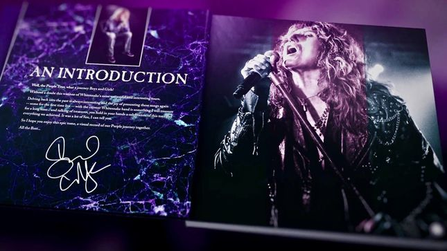 WHITESNAKE - Video Trailer Launched For The Purple Tour: A Photographic Journey Book