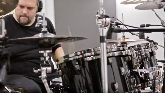 "EXUMER Release Drum Playthrough Video For ""Fire & Damnation"""