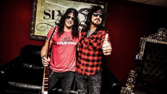 GUNS N' ROSES Guitarist SLASH Featured In Final Episode Of NIKKI SIXX's My Favorite Riff; Video