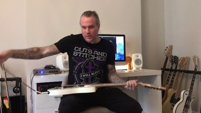 "CYHRA Guitarist EUGE VALOVIRTA Posts Playthrough For ""Heartrage"" From Debut Album"