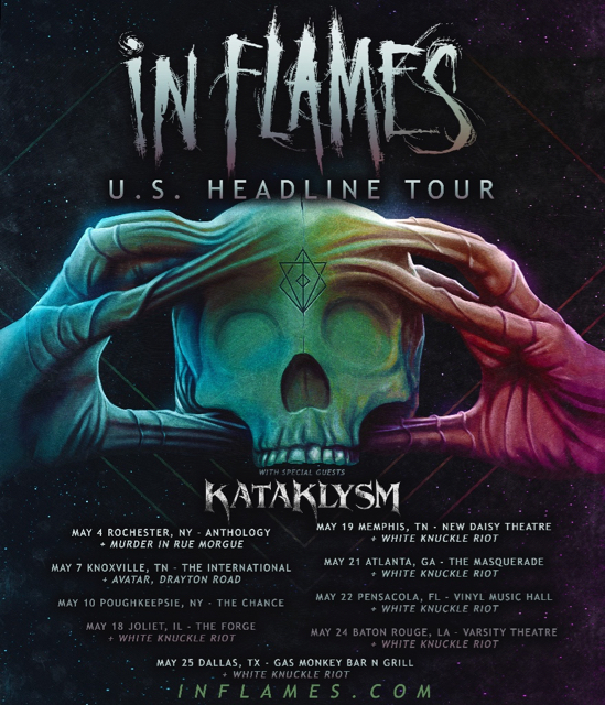 Kataklysm Announce Us Tour With In Flames Plus Additional