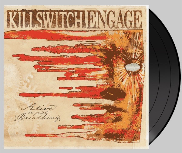 Image result for killswitch engage alive or just breathing new vinyl art