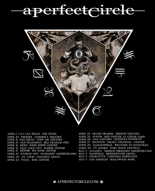 A Perfect Circle Fall Tour