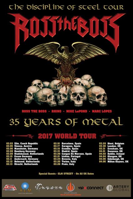 Manowar Tour Dates