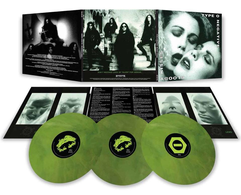 Type O Negative Bloody Kisses To Be Reissued On Triple