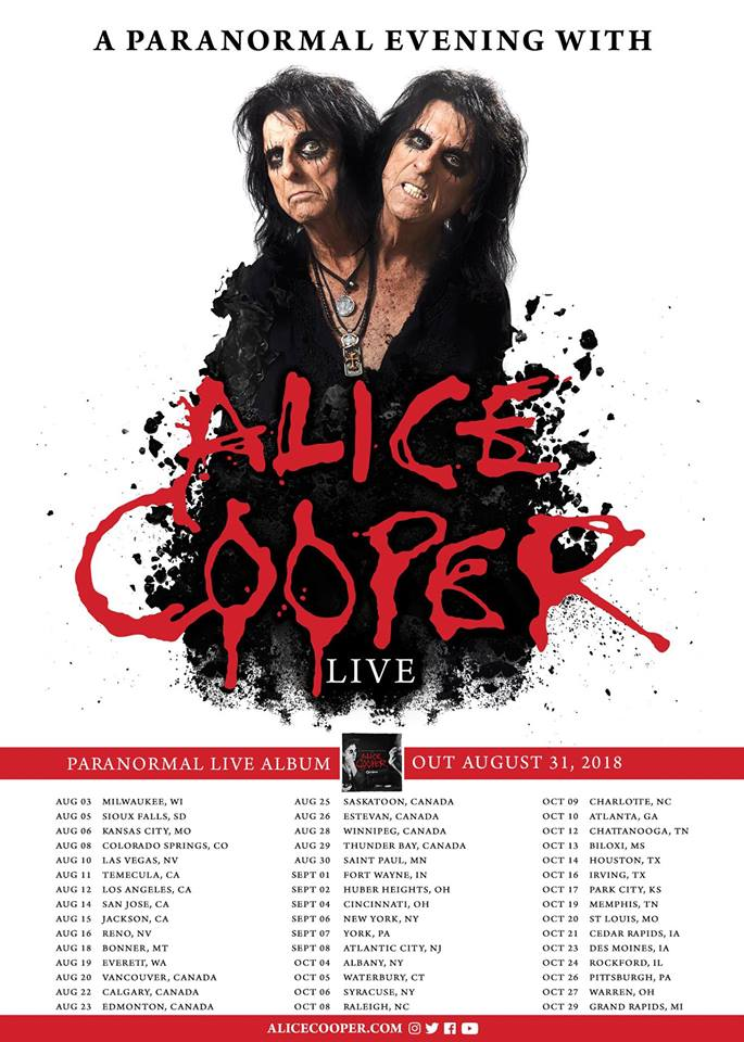 ALICE COOPER Rejoined By ORIANTHI On Stage In Los Angeles