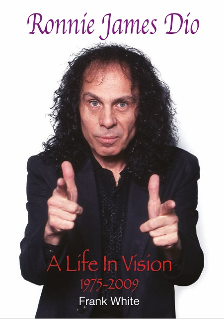 RONNIE JAMES DIO – A Life In Vision 1975-2009 Photo Book Due In