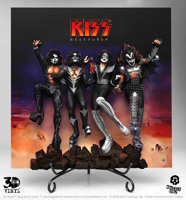 Kiss Debut Album Destroyer 3d Vinyl Available For
