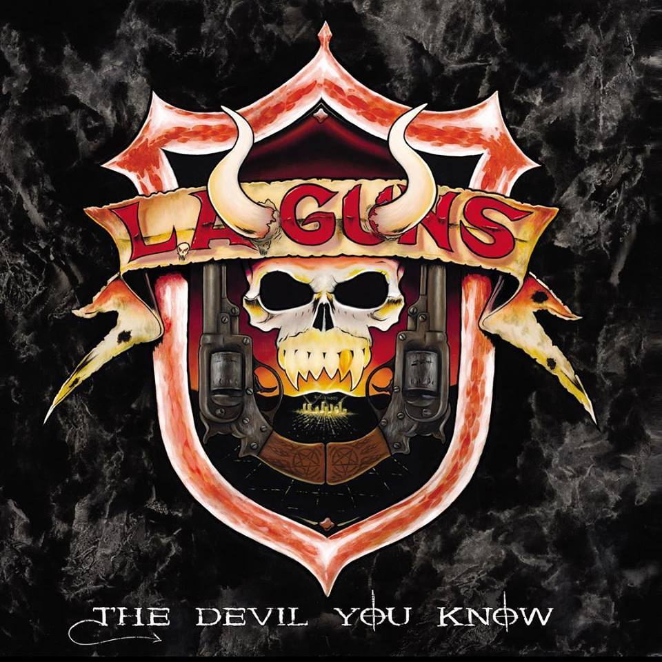 """It's pissed off, it's nasty and pure,"""" says L.A. Guns guitarist Tracii Guns, talking about his band's forthcoming new album, The Devil You Know."""