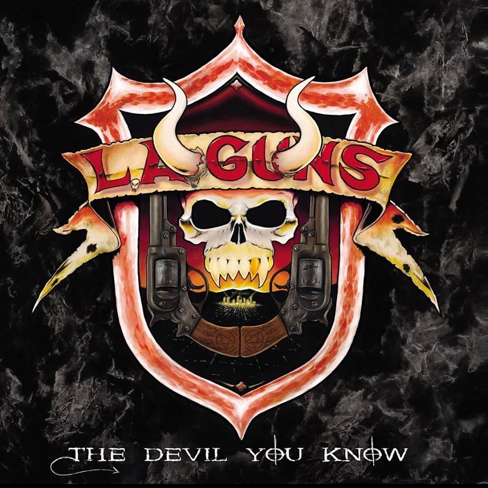 L.A. GUNS Reveal Cover Art For New Album, The Devil You