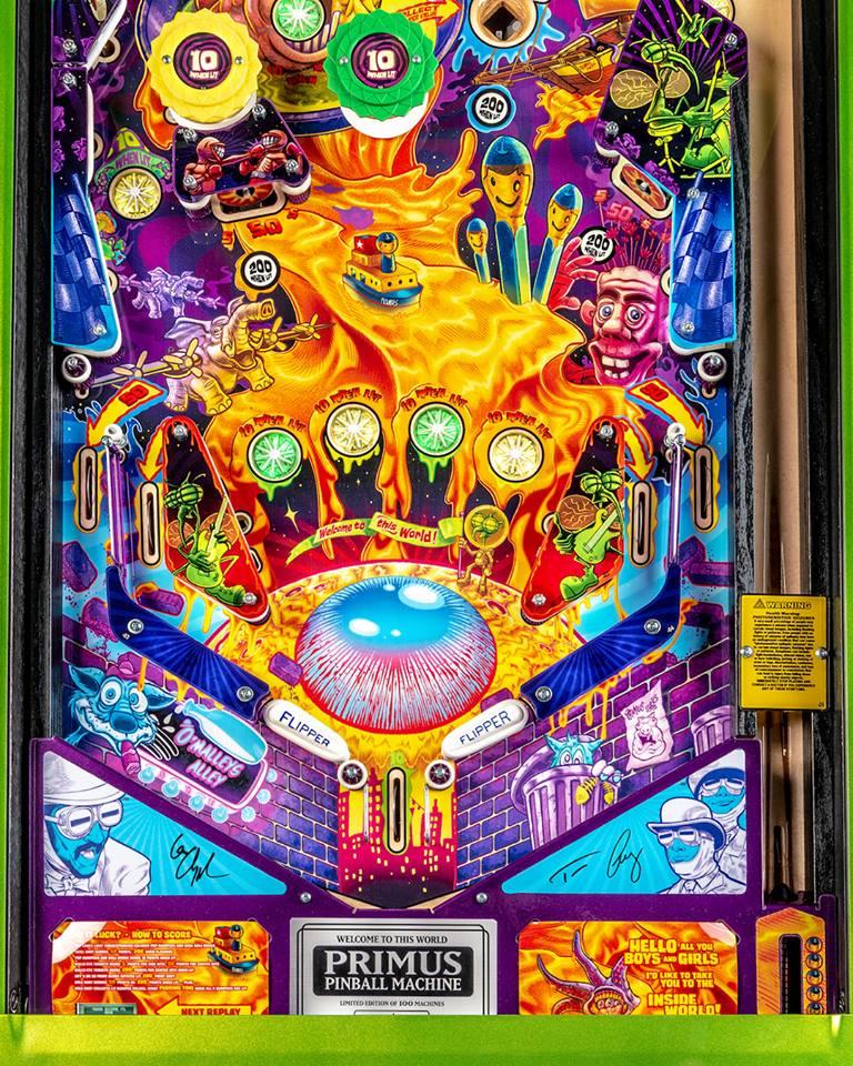 Limited Edition PRIMUS Pinball Machine On Sale Tomorrow