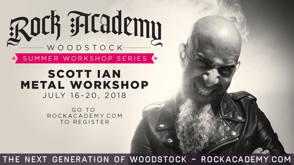 ANTHRAX Guitarist SCOTT IAN To Teach Metal Workshop