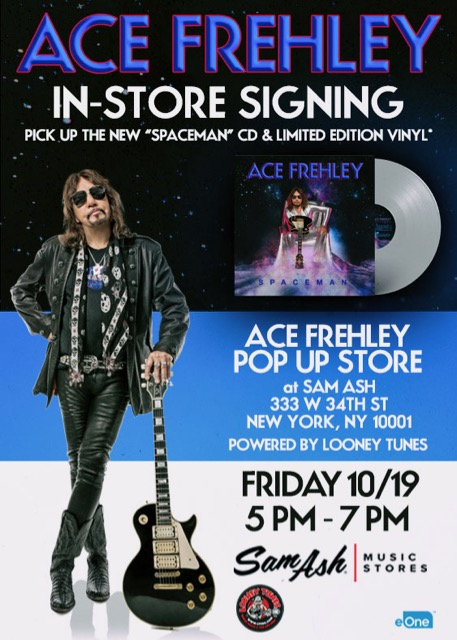 ace frehley to perform entire 1978 solo album live at new jersey kiss expo 2018. Black Bedroom Furniture Sets. Home Design Ideas