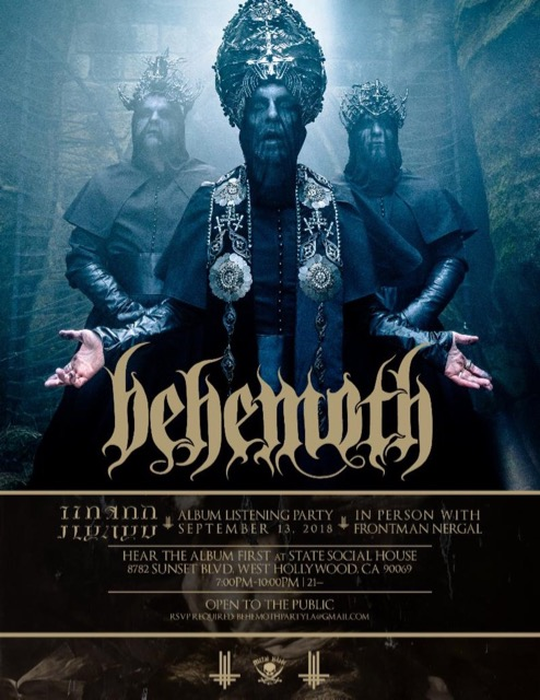 BEHEMOTH - Official Video For