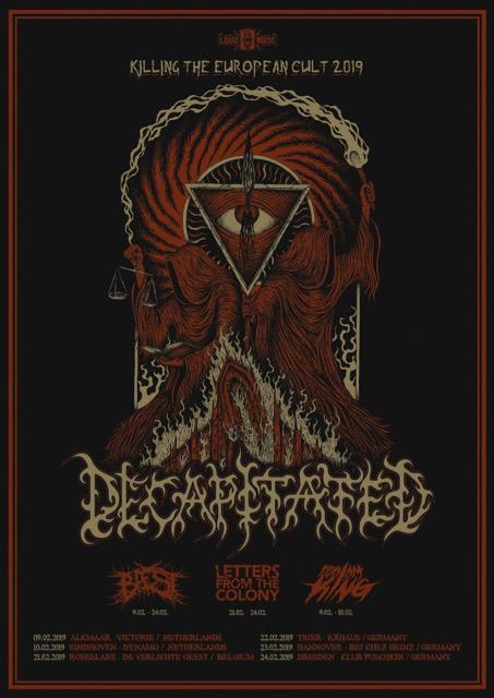 Decapitated Tour Dates