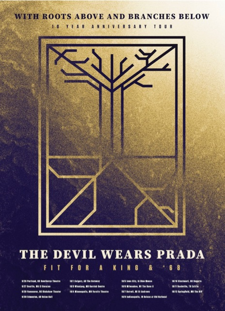 Chicago Tour Devil Wears Prada