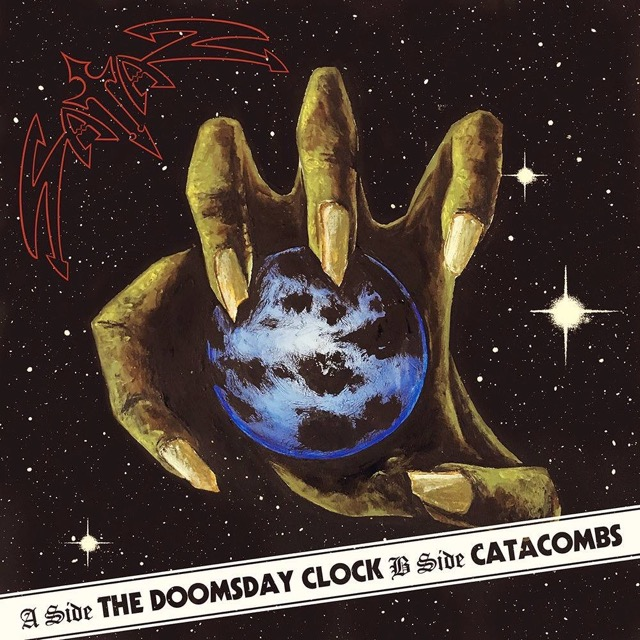 "NWOBHM Legends SATAN To Release ""The Doomsday Clock"