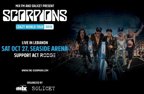 SCORPIONS Announce Crazy World Tour Date In Beirut, Lebanon; Video Trailer - Bravewords.com