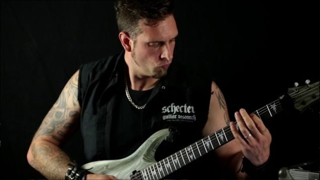 "DEVILMENT Guitarist COLIN PARKS Posts Playthrough Video For ""Shine On Sophie Moone"""