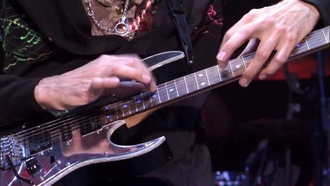STEVE VAI - Alien Guitar Secrets Masterclasses Announced For Europe Through March 2018