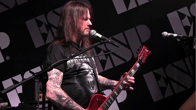SLAYER / EXODUS Guitarist GARY HOLT Schedules Guitar Clinic / Q&A At Silly Strings Guitar Shop California