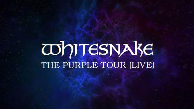 Whitesnake Deep Purple Tour