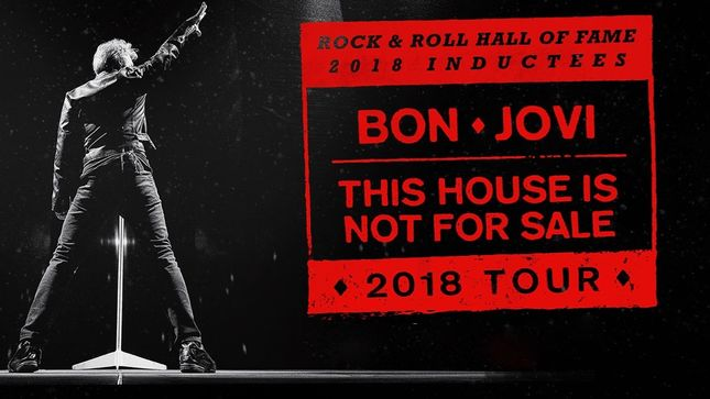 BON JOVI Announce Spring Leg Of This House Is Not For Sale Tour; Album To Be Re-Released With Two New Songs