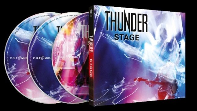 THUNDER To Release New Live Album In March; Details Revealed