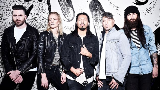POP EVIL Post Behind The Scenes Video Footage From Nashville Studio