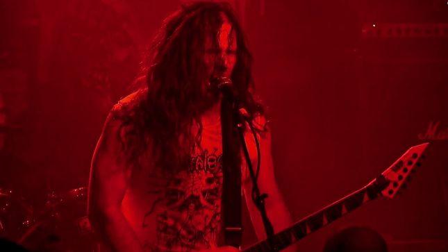 "EXHUMED Release ""Unspeakable"" Live Video; Frontman MATT HARVEY Comments On Upcoming Grind Over Europe II Dates"