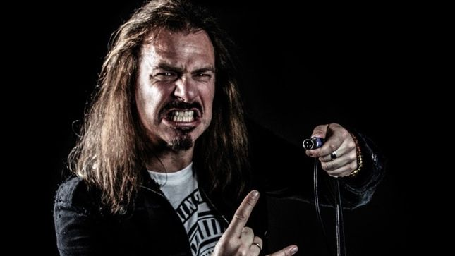 "ANDY B. FRANCK To Leave ALMANAC - ""Now I Will Be Extremely Focused On The New BRAINSTORM Album"""