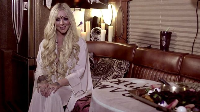 in this moment singer maria brink featured in new hot minute episode video. Black Bedroom Furniture Sets. Home Design Ideas