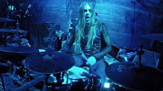 "CARACH ANGREN - ""When Crows Tick On Windows"" Live Drum Video Streaming"