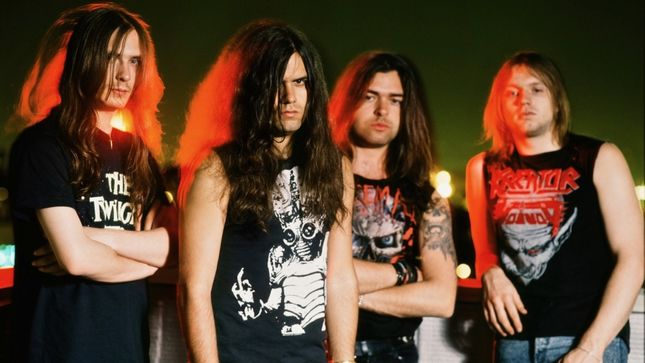 Kreator to reissue classic 90s era albums next month on for Classic house albums 90s