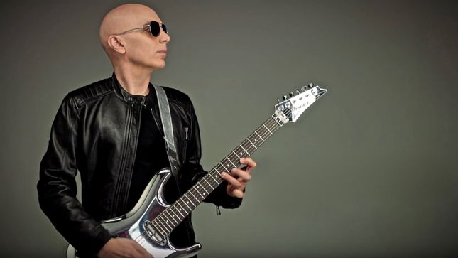 JOE SATRIANI - The Joe Satriani Guitar Method Video Series To Launch Next Week; Teaser Posted