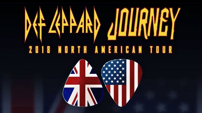 DEF LEPPARD And JOURNEY - Special Fan Pre-Sales, VIP Packages Announced For North American Co-Headline Tour