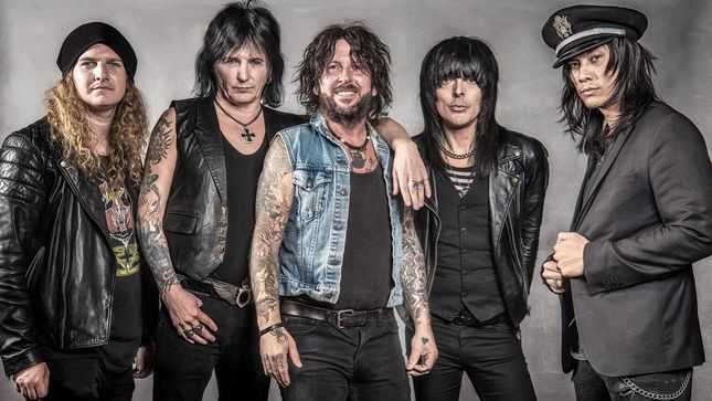 "L.A. GUNS Stream ""No Mercy"" From Made In Milan DVD / Blu-Ray"