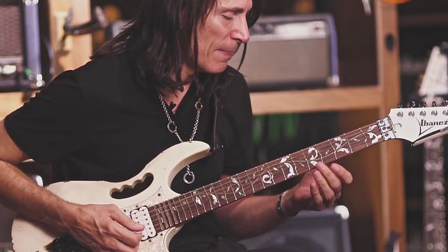 "STEVE VAI - ""The Two Guitar Players Who Really Created A Paradigm Shift In My Opinion Were JIMI HENDRIX And EDWARD VAN HALEN"""