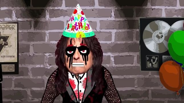 Help ALICE COOPER Celebrate His 70th Birthday