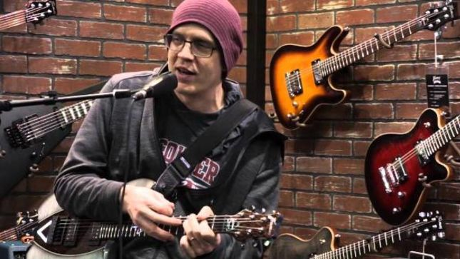 DEVIN TOWNSEND - New Framus Guitars Live Rig Rundown Video Posted
