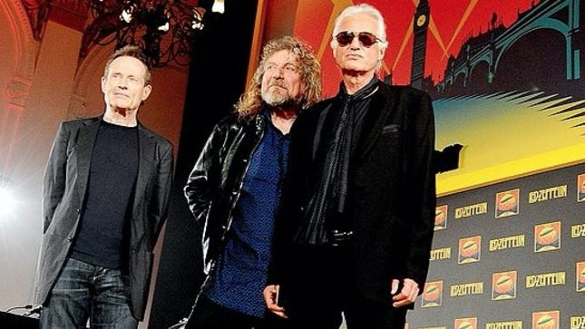 "ROBERT PLANT On LED ZEPPELIN Reunion - ""No Idea - It's Not Even Within My Countenance To Imagine It, Really"""