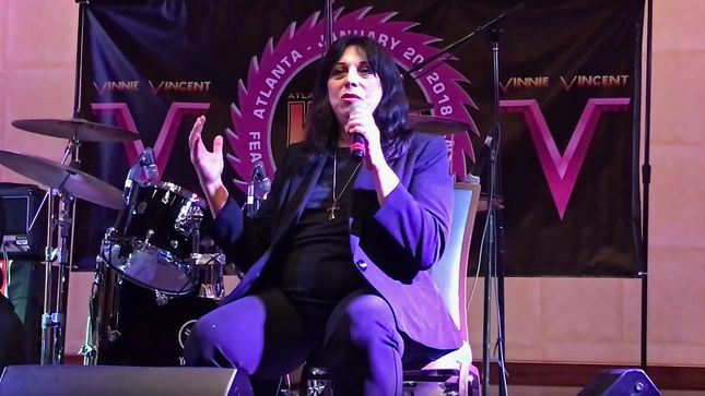 VINNIE VINCENT Q&A At Atlanta KISS Expo; Video Of Full Session Now Streaming