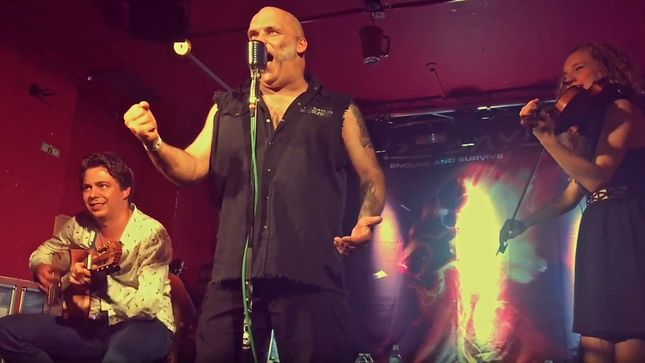 THOMAS ZWIJSEN Releases Tour Vlog #1: Life On The Road (Europe) Featuring BLAZE BAYLEY, ANNE BAKKER