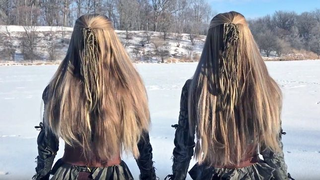 "Harp Twins CAMILLE AND KENNERLY Cover LED ZEPPELIN's ""Immigrant Song""; Video"