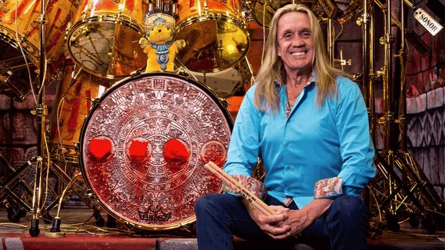 IRON MAIDEN Drummer NICKO McBRAIN - The Setlist, Part 3; Video