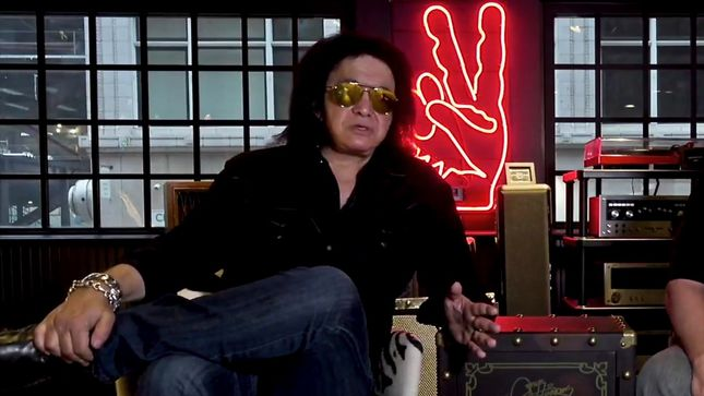 GENE SIMMONS Guests On Three Sides Of The Coin Podcast; Video