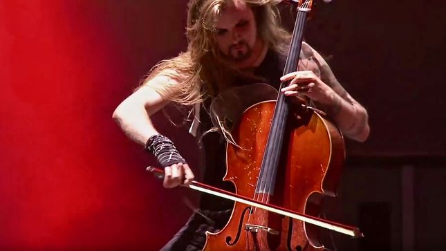 "APOCALYPTICA Performs METALLICA's ""Fight Fire With Fire"" Live At Hellfest 2017; Pro-Shot Video Streaming"
