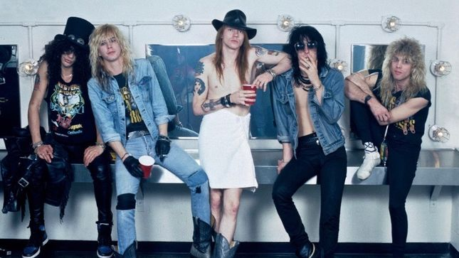 "GUNS N' ROSES - Famed Photographer MARK ""WEISSGUY"" WEISS Auctioning Photos From Historic 1988 Show At The Ritz"