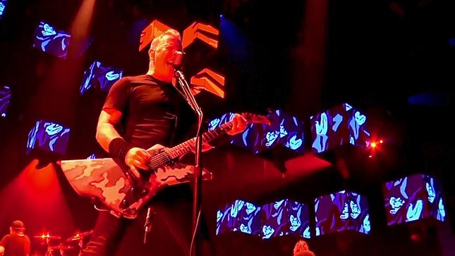 "METALLICA Performs ""Sad But True"" In Lisbon; Pro-Shot Video Streaming"