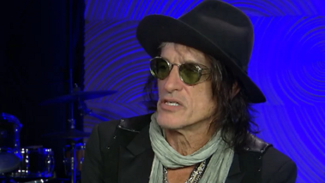 "JOE PERRY Talks AEROSMITH - ""Getting That Machine Going Can Be Really Hard""; Video Interview"